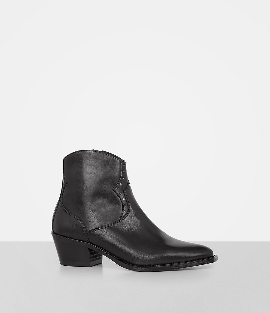 Womens Melanie Boot (black) - Image 3