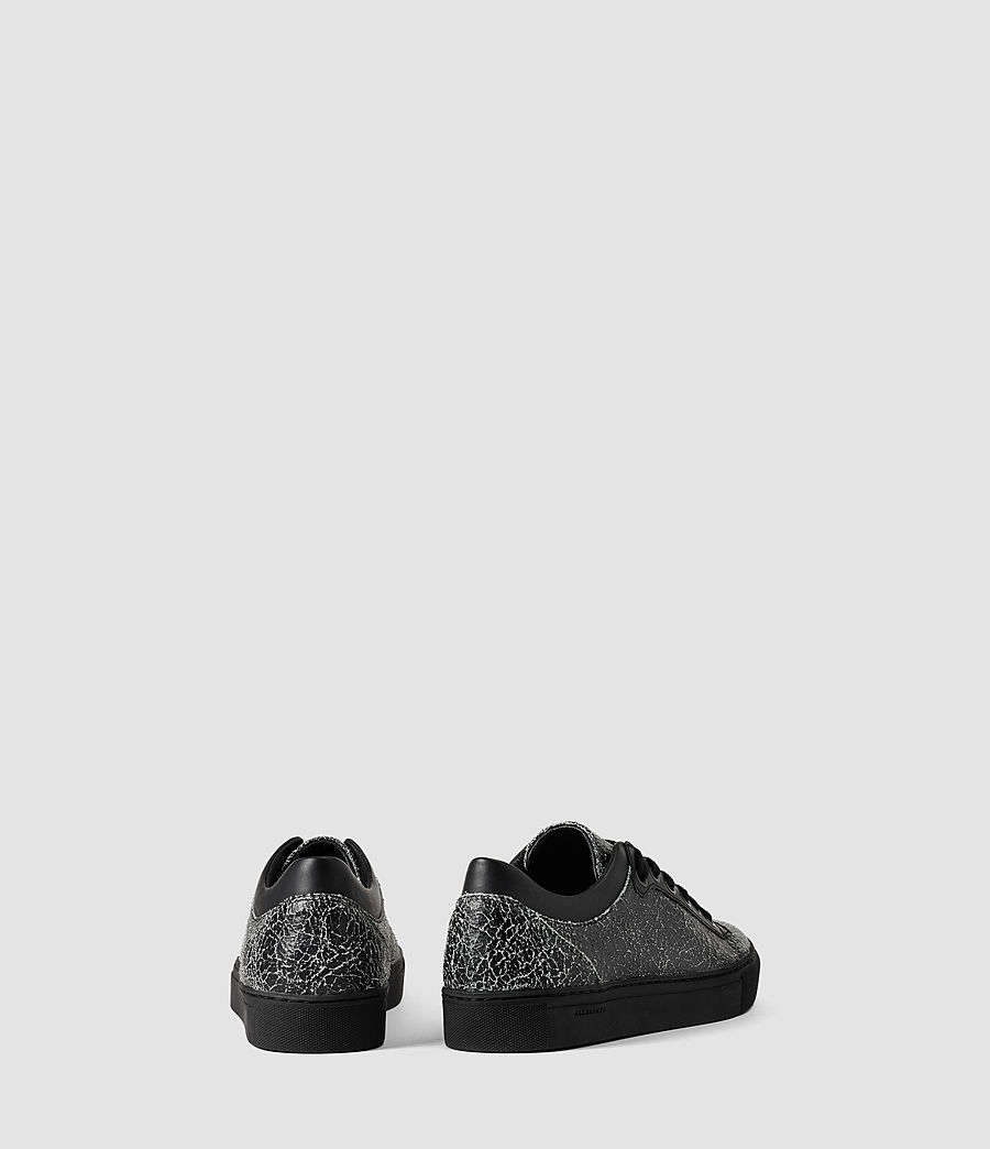 Mujer Low C90 Trainers (black_crackle) - Image 3
