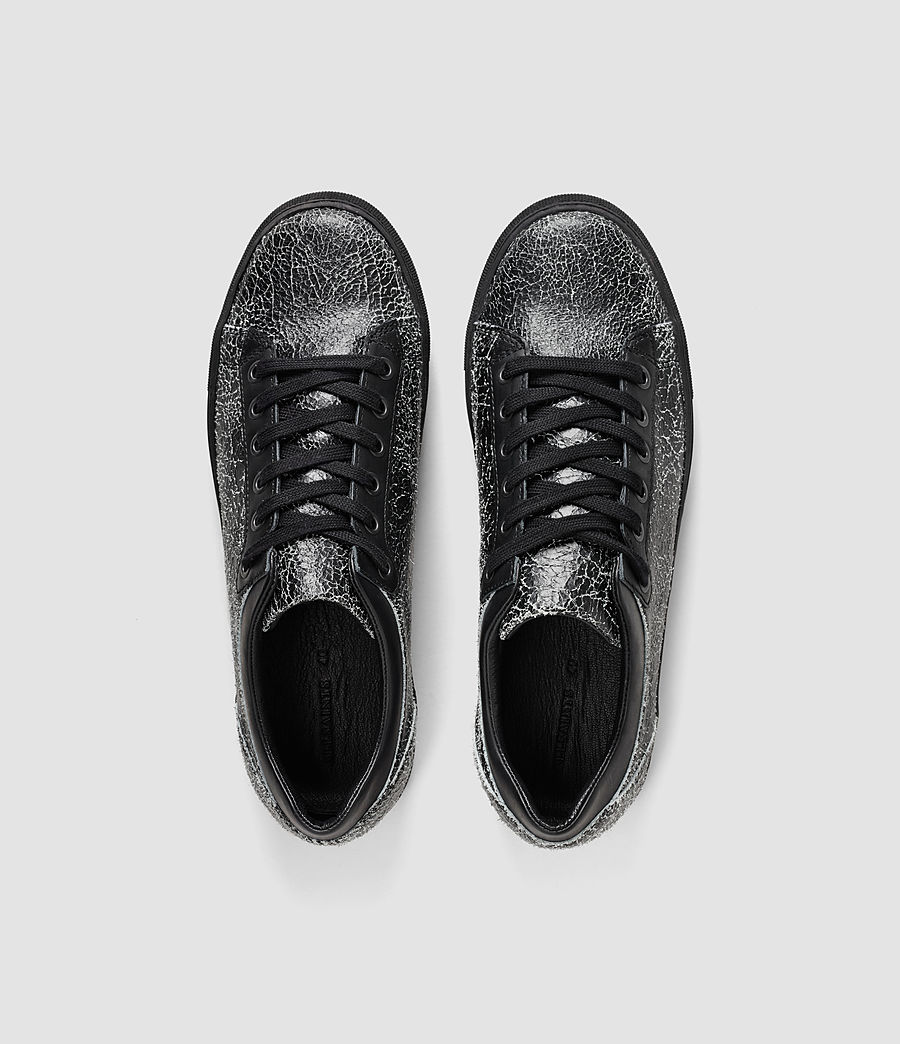 Mujer Low C90 Trainers (black_crackle) - Image 4