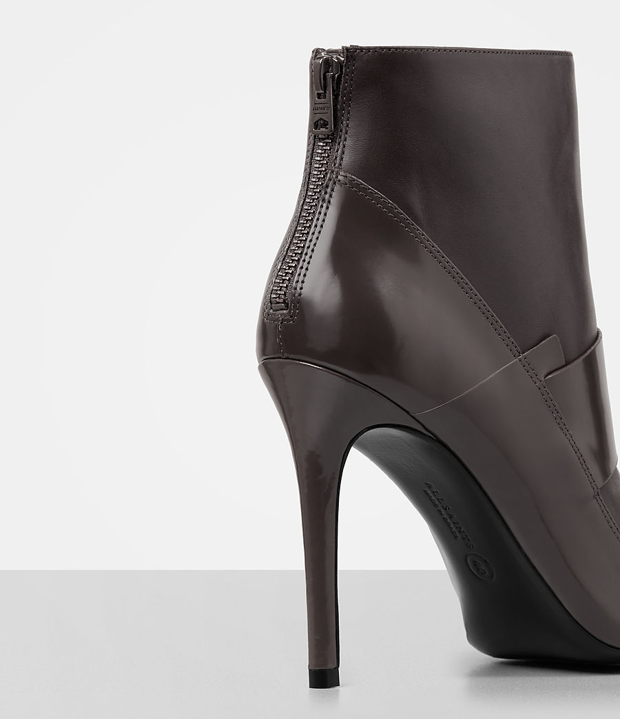Mujer Xavier Heel Boot (mink_grey) - Image 2