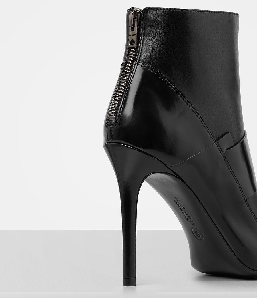 Damen Xavier Heel Boot (black) - Image 2