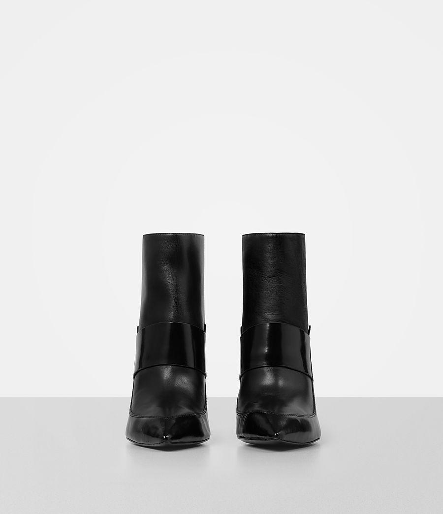 Damen Xavier Heel Boot (black) - Image 4