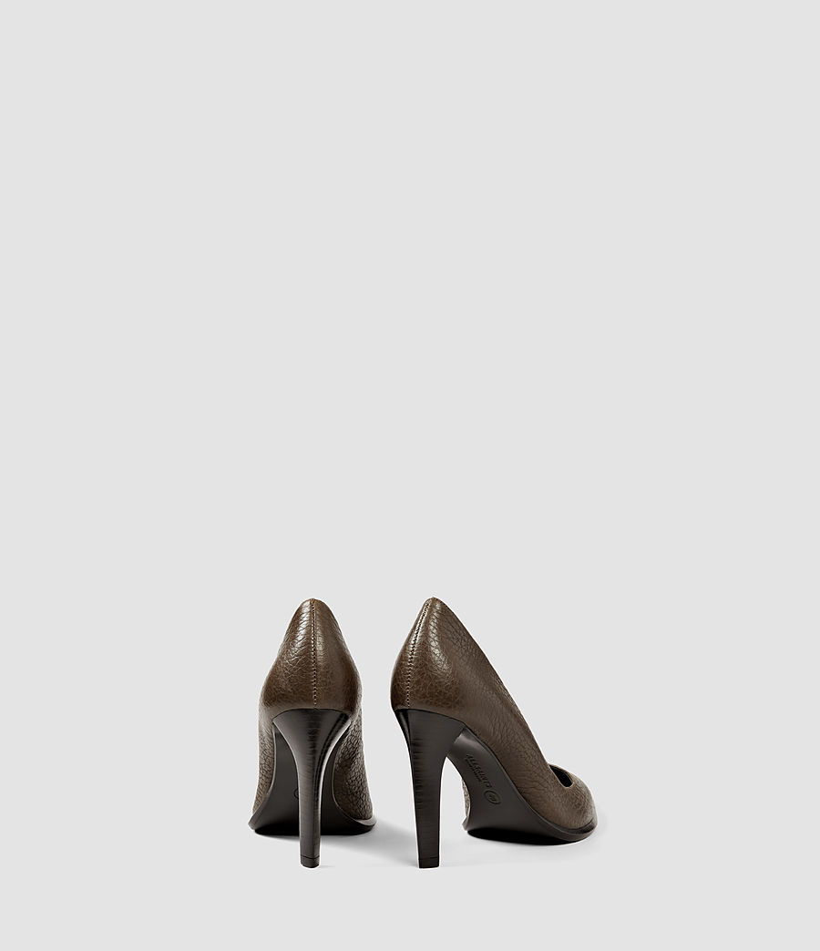 Damen Traif Heel (dark_khaki_green) - Image 3