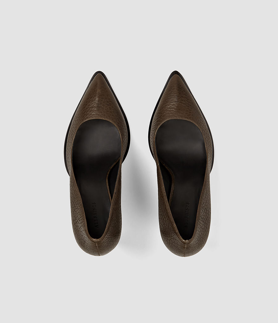 Damen Traif Heel (dark_khaki_green) - Image 4