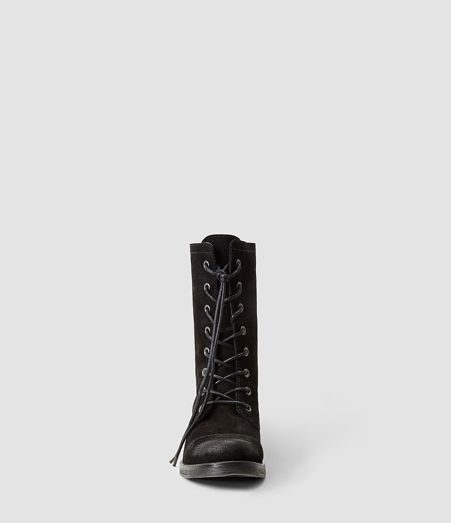 Damen Military Trial Boot (black) - Image 2
