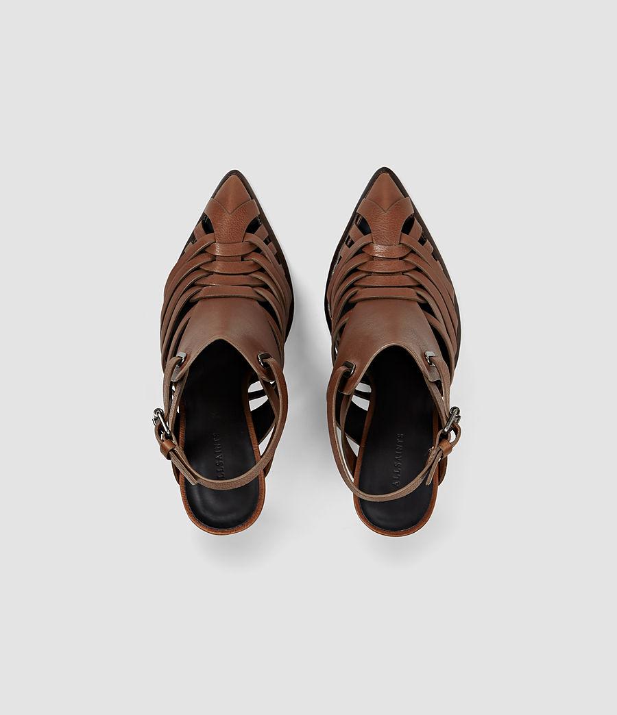Womens Tao Heel (brick_brown) - Image 4