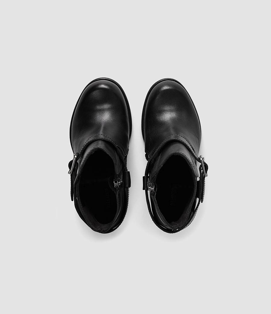 Women's Jules Heeled Boot (black) - Image 4