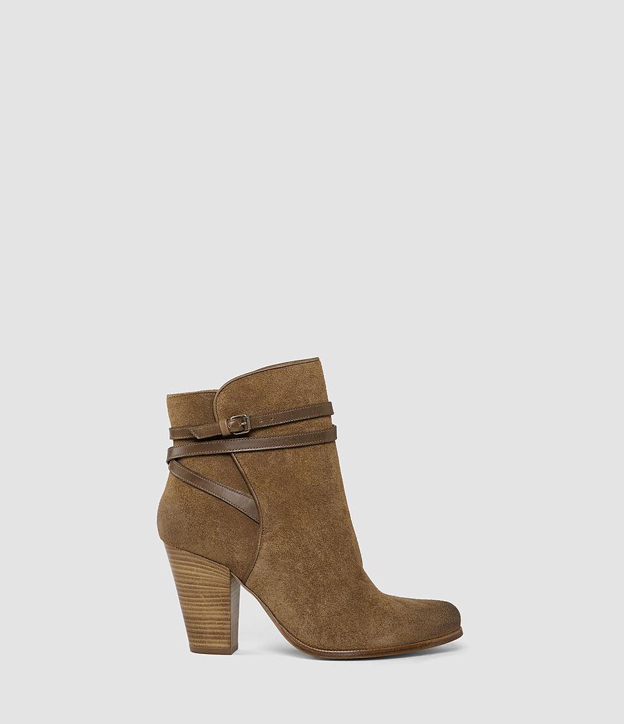 Womens Victoria Heel Boot (tobacco_gold) - Image 1
