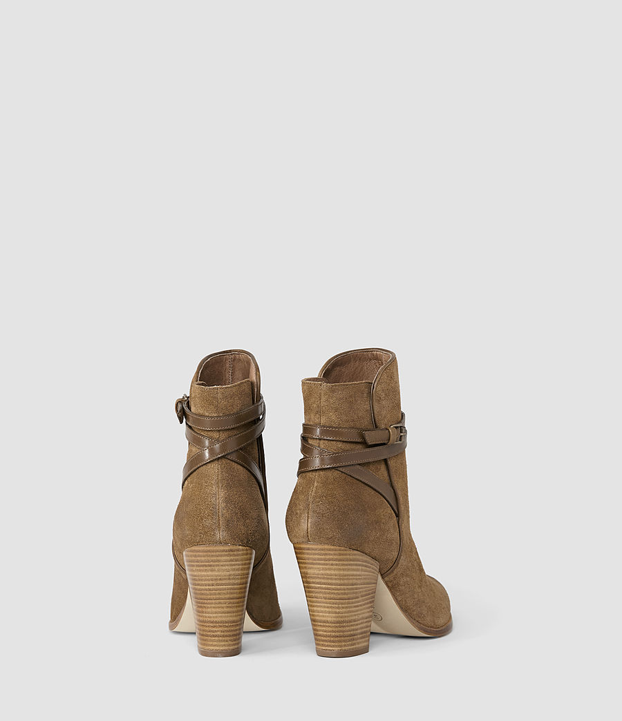 Mujer Victoria Heel Boot (tobacco_gold) - Image 3