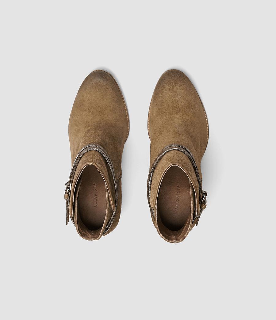 Womens Victoria Heel Boot (tobacco_gold) - Image 4