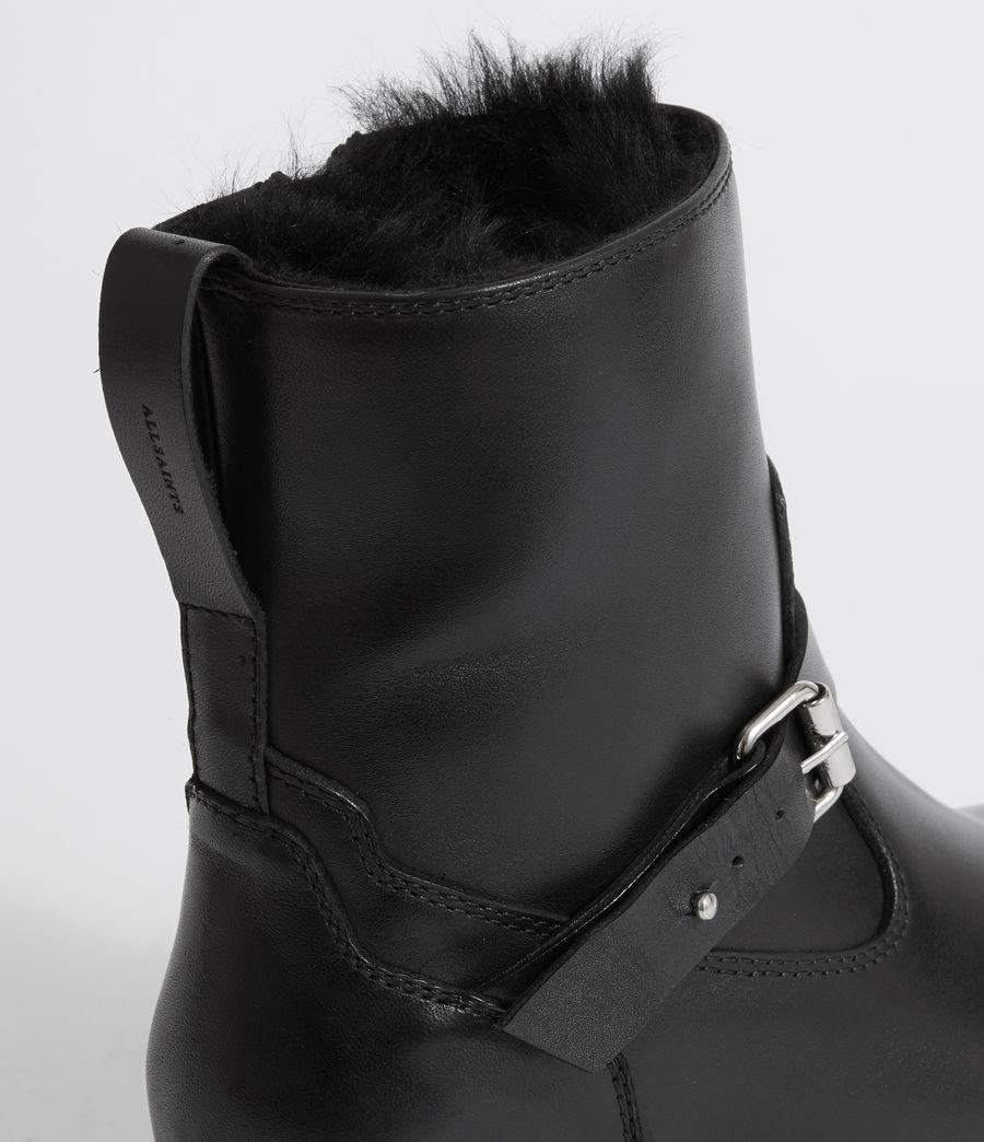 Damen Thea Shearling Stiefel (black) - Image 2