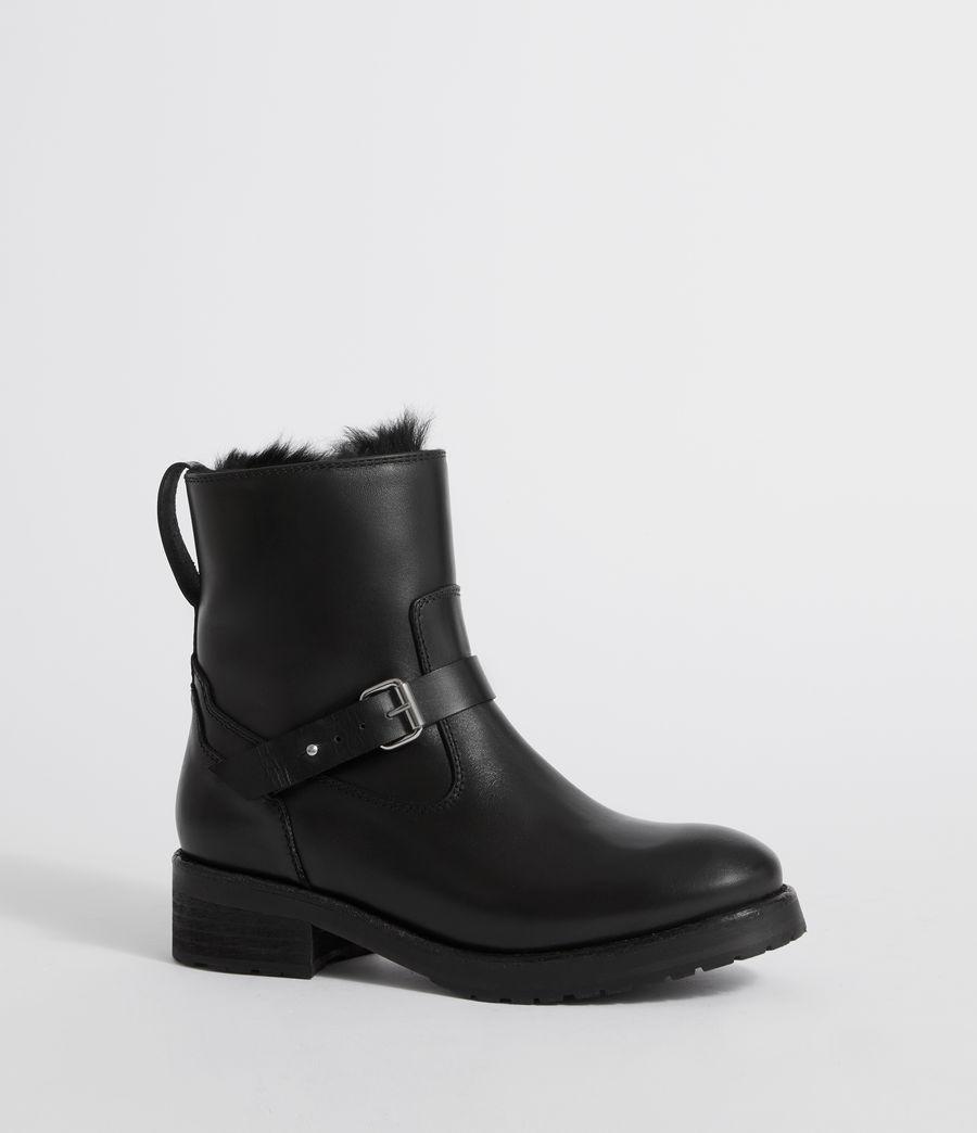 Damen Thea Shearling Stiefel (black) - Image 3
