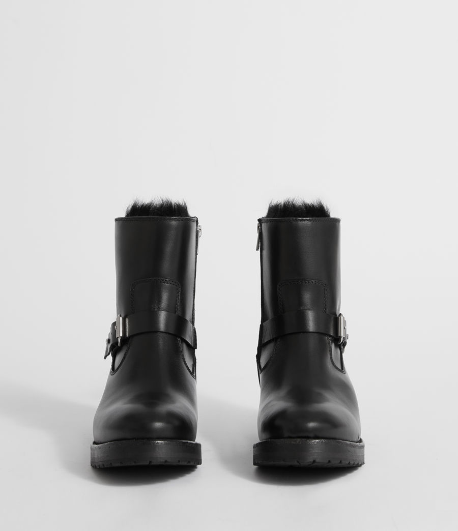 Damen Thea Shearling Stiefel (black) - Image 4