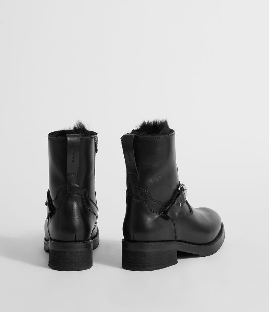 Damen Thea Shearling Stiefel (black) - Image 5