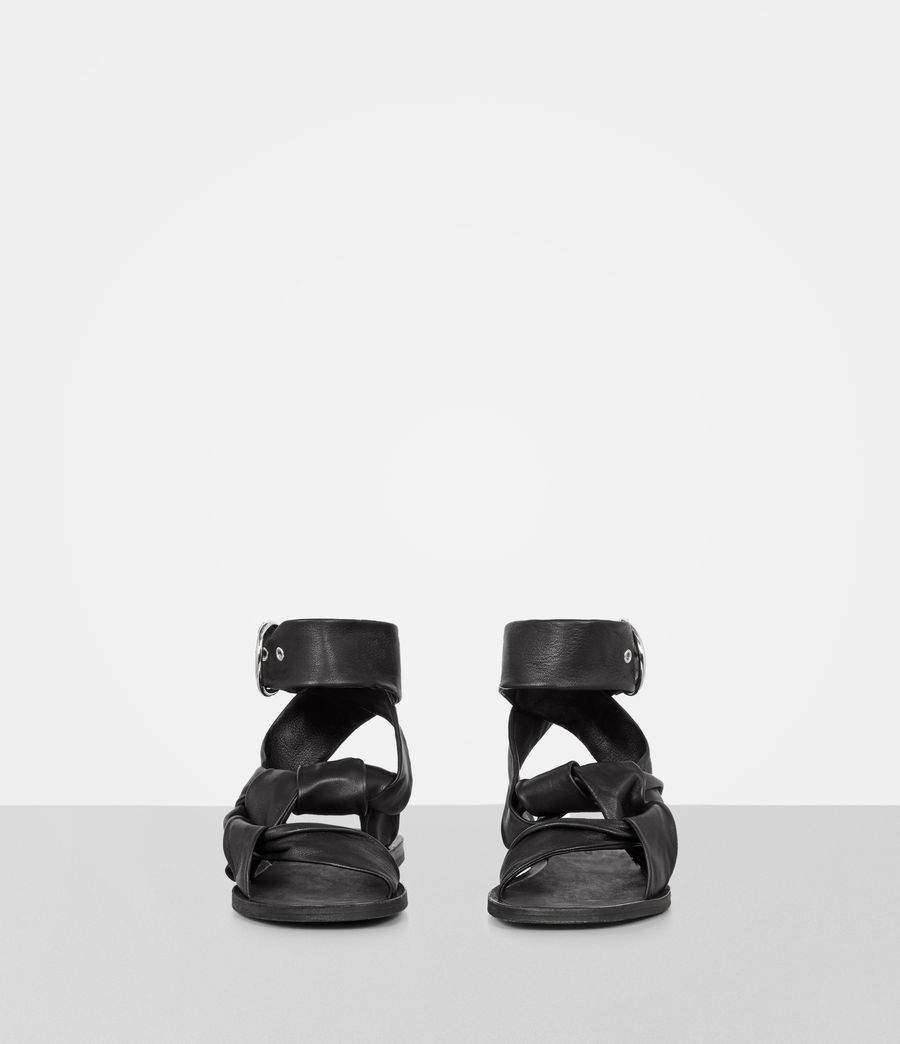 Donne Sandali Rozen (black) - Image 4