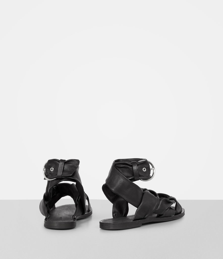 Mujer Sandalias Rozen (black) - Image 5
