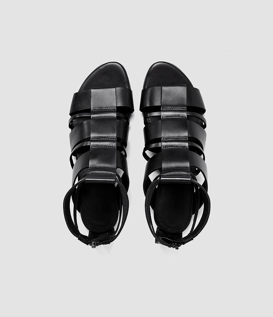 Women's Phoenix Sandal (black) - Image 4