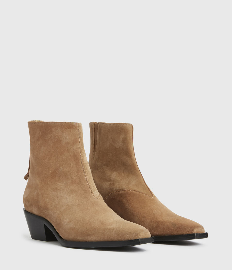 Damen Lenora Boots (cognac) - Image 4