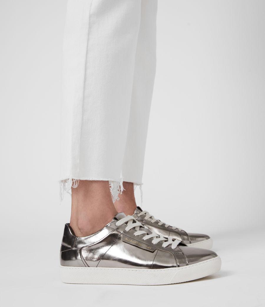 Damen Sheer Sneaker (silver) - Image 2