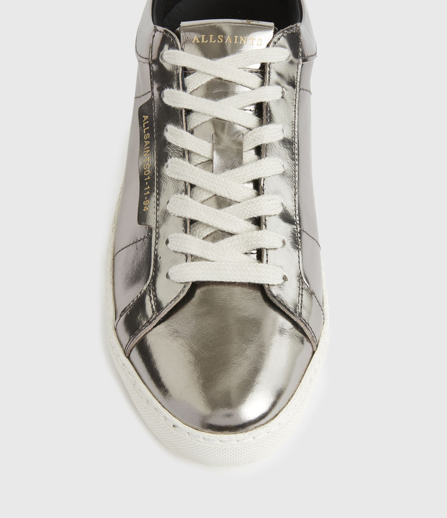 Damen Sheer Sneaker (silver) - Image 3
