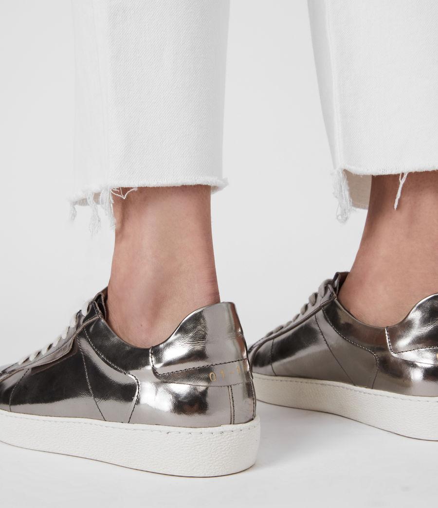 Damen Sheer Sneaker (silver) - Image 4