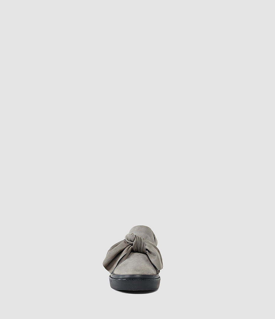Mujer Zale Leather Low Top (grey) - Image 2