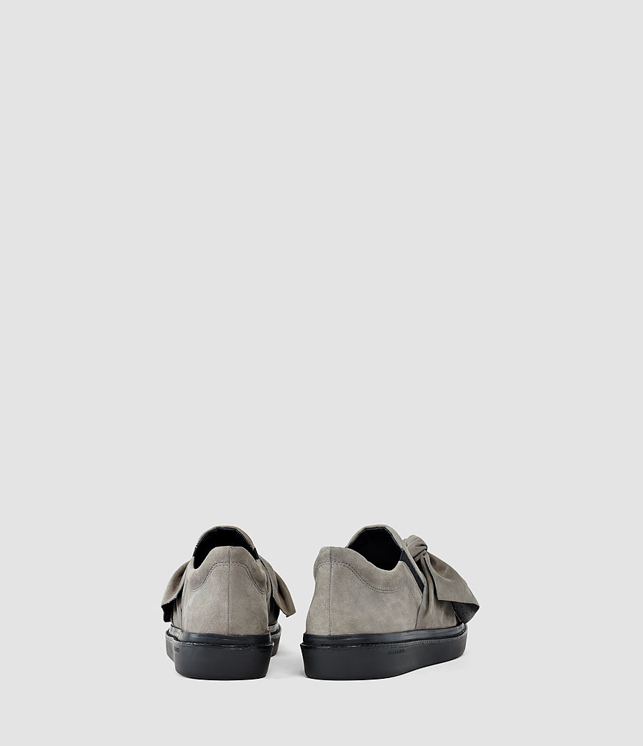 Mujer Zale Leather Low Top (grey) - Image 3