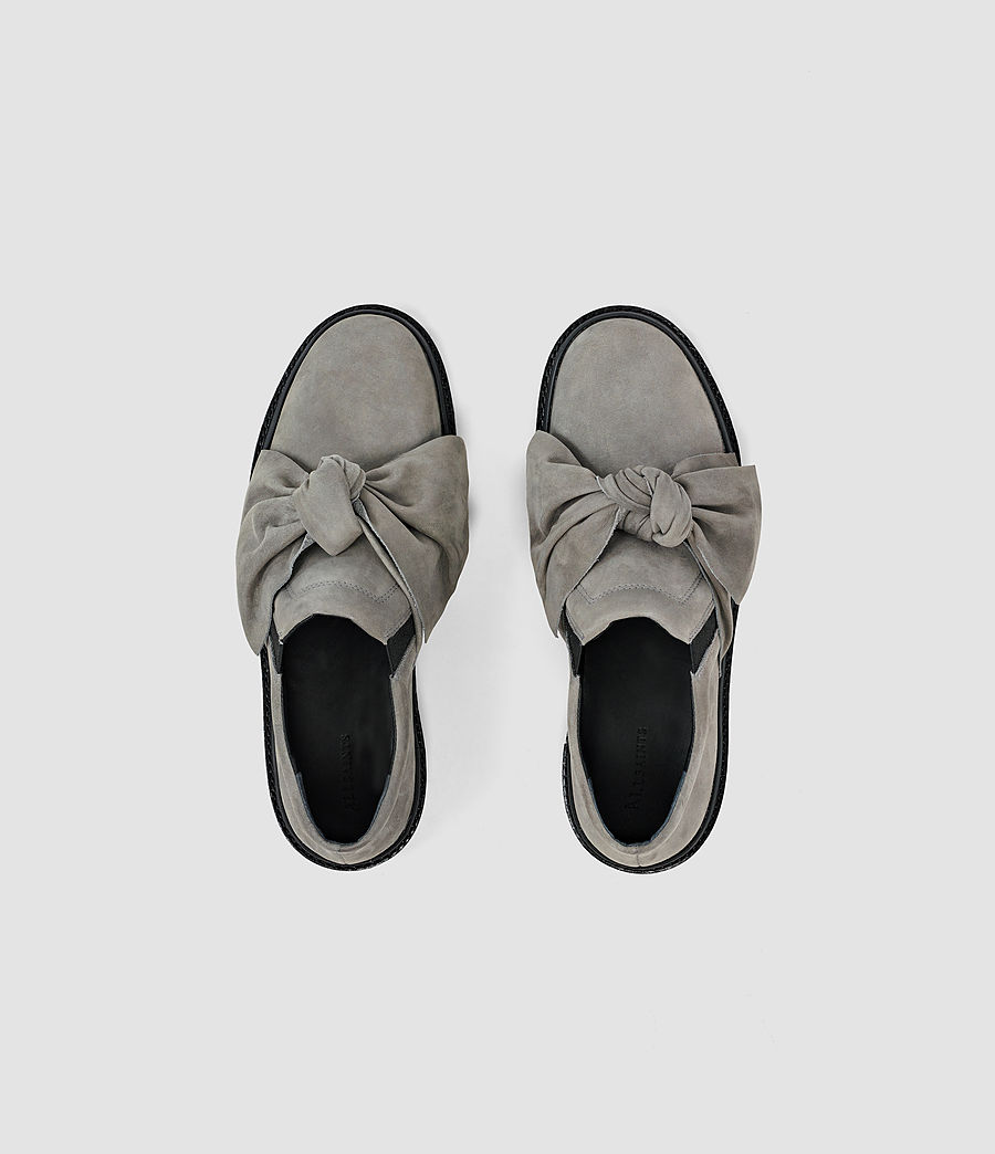 Mujer Zale Leather Low Top (grey) - Image 4