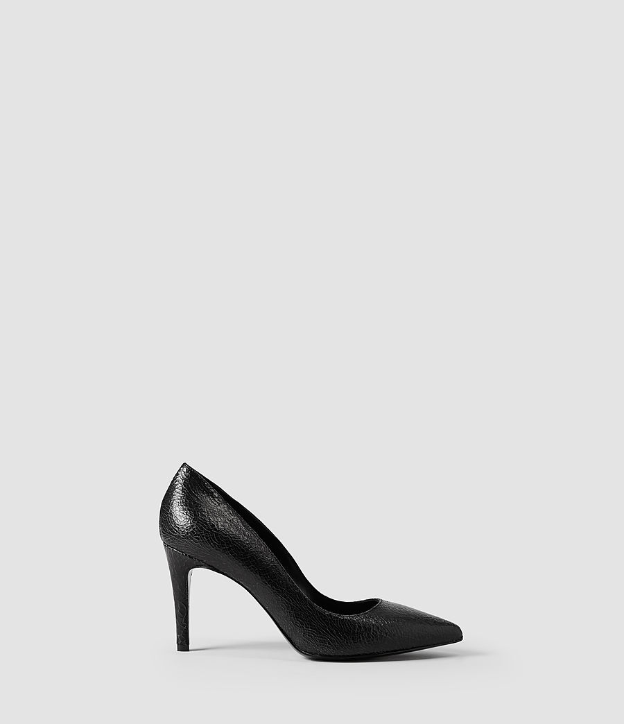Donne Lena Pumps (black_crackle) - Image 1