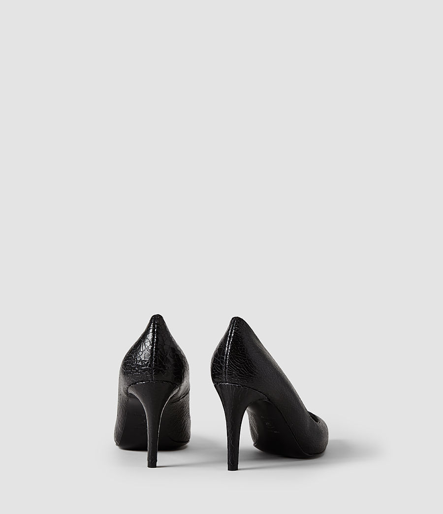 Donne Lena Pumps (black_crackle) - Image 3