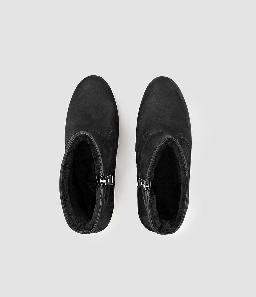 Women's Gosset Shearling Boot (black) - Image 4