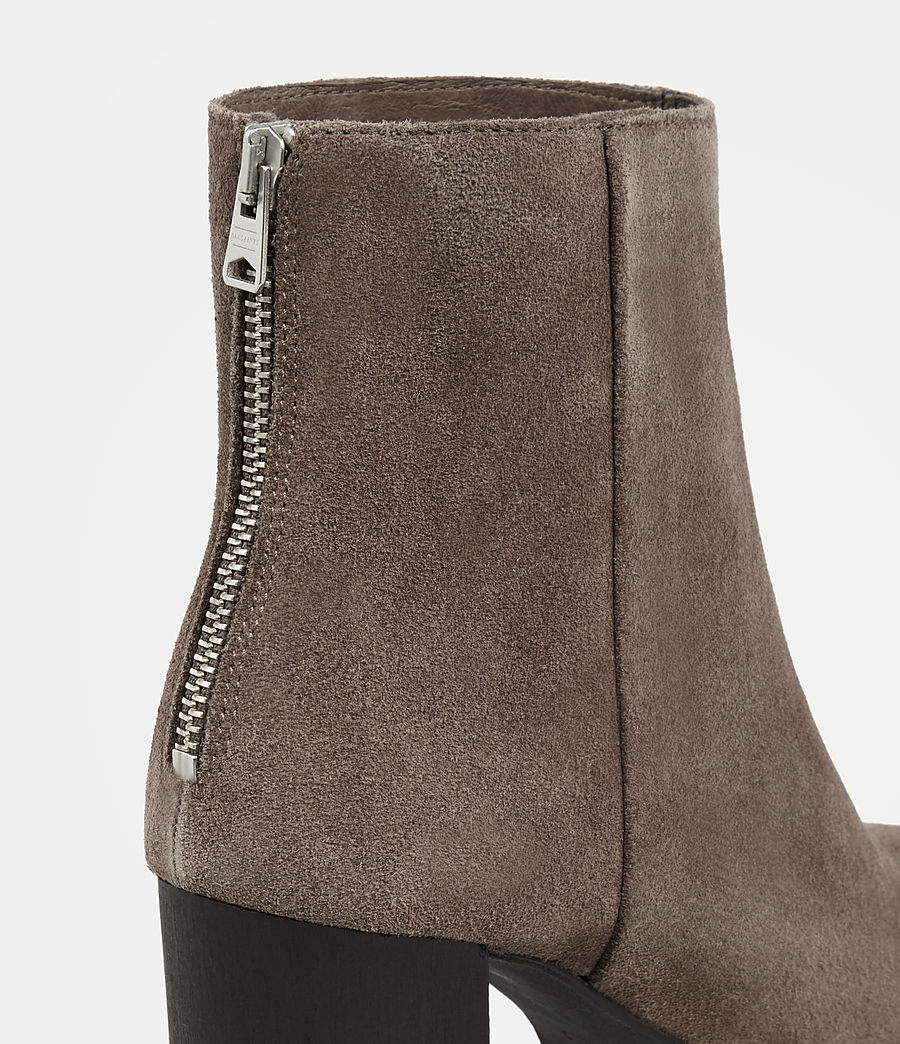 Womens Inez Boot (almond_brown) - Image 2