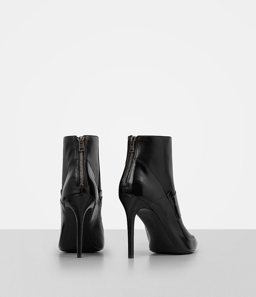 Damen Xavier Heel Boot (black) - Image 5