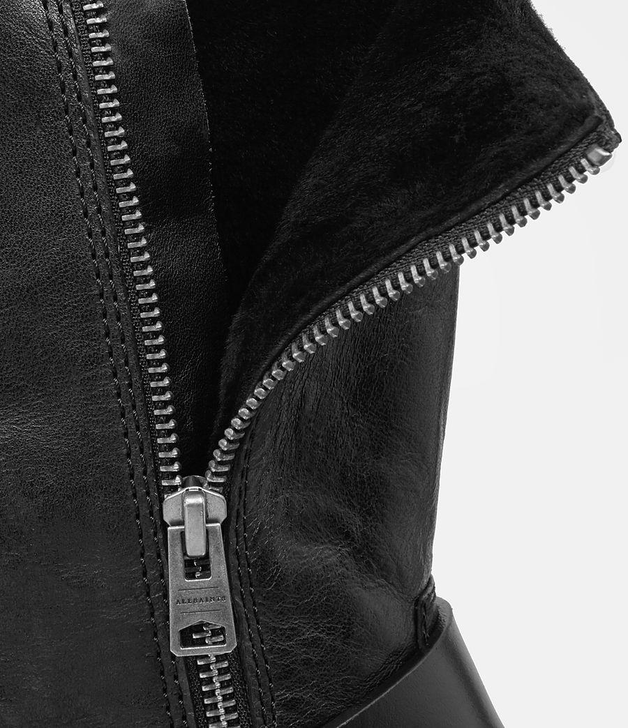 Femmes Bottes Zadie Biker en shearling (black) - Image 5