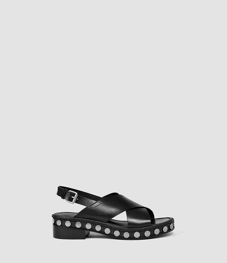 Donne Ruse Sandal (black) - Image 1