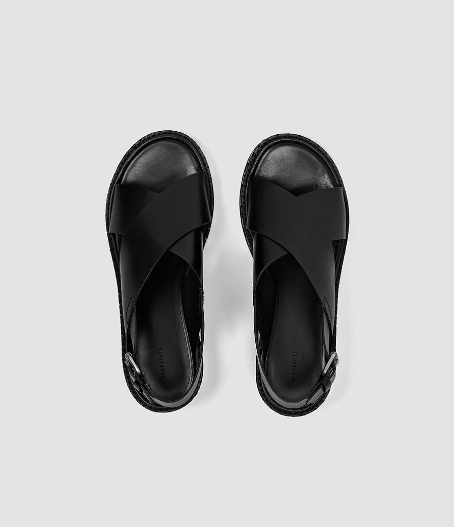 Donne Ruse Sandal (black) - Image 4