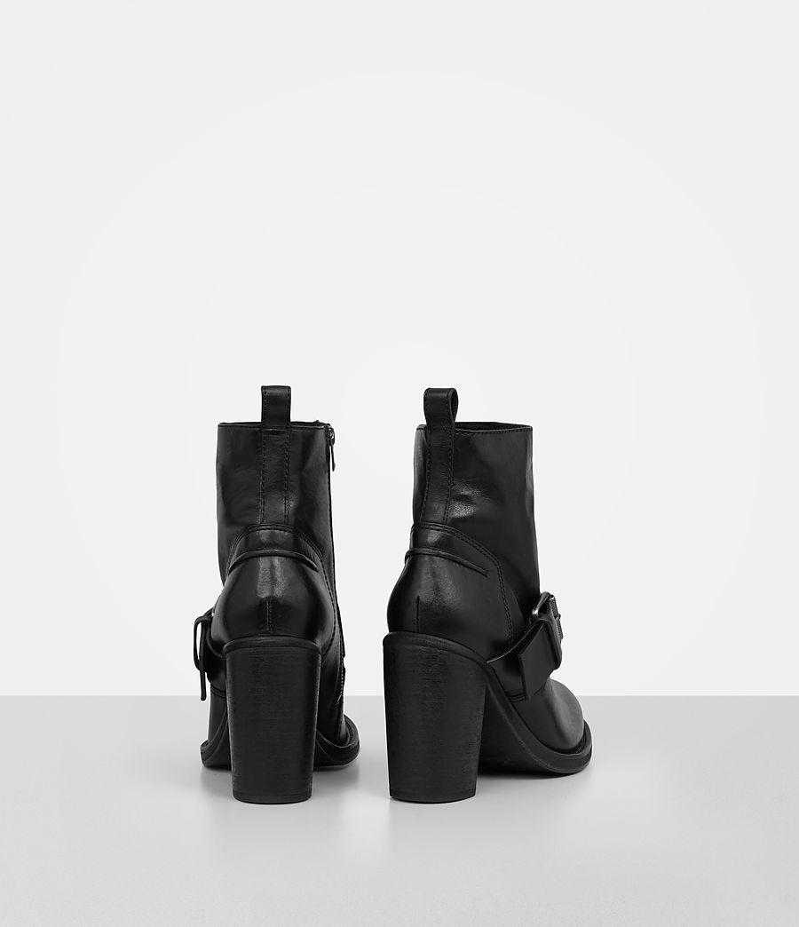 Femmes Bottes à talon Zadie en shearling (black) - Image 5