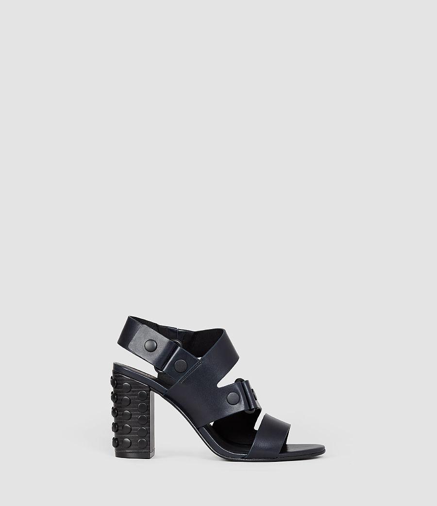 Women's East Heel Sandal (navy) - Image 1
