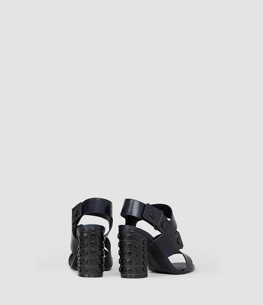 Women's East Heel Sandal (navy) - Image 3