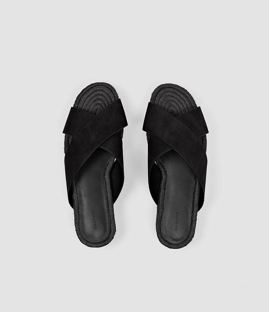 Women's Harlem Sandal (black) - Image 4