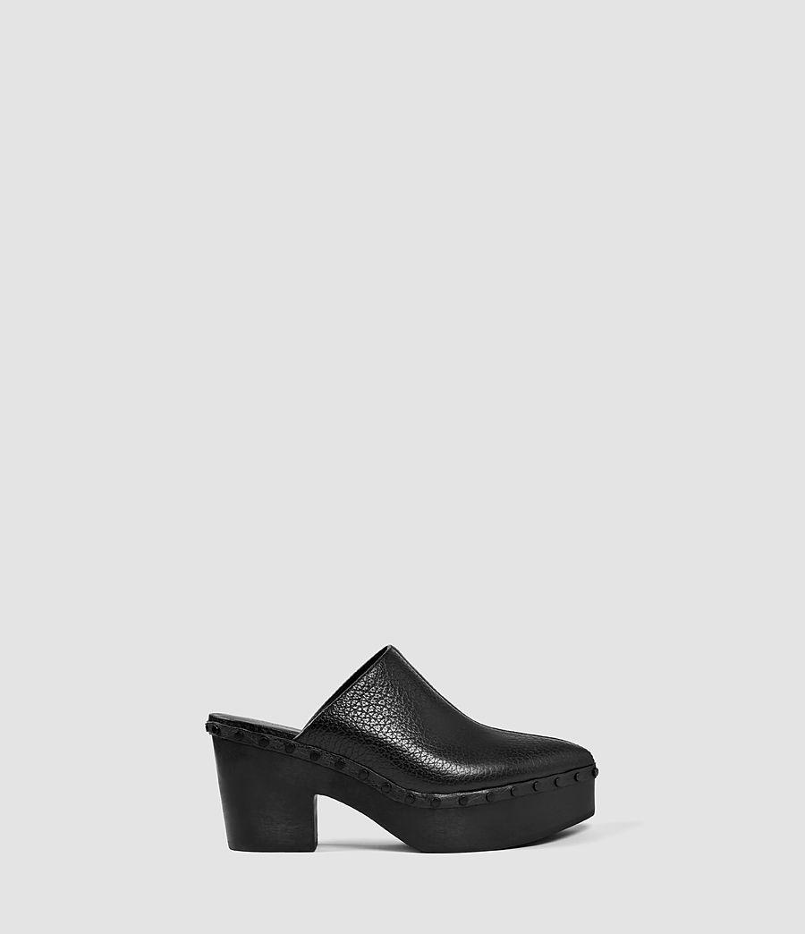 Femmes Sabots Gabes (black) - Image 1