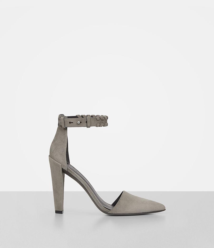 Women's Gabie Suede Sandal (smoke_grey) - Image 1