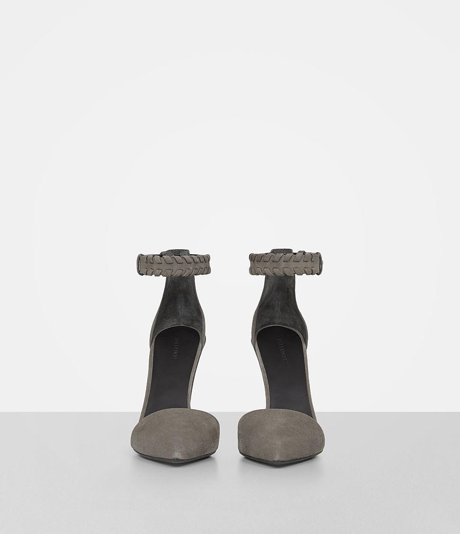 Women's Gabie Suede Sandal (smoke_grey) - Image 4