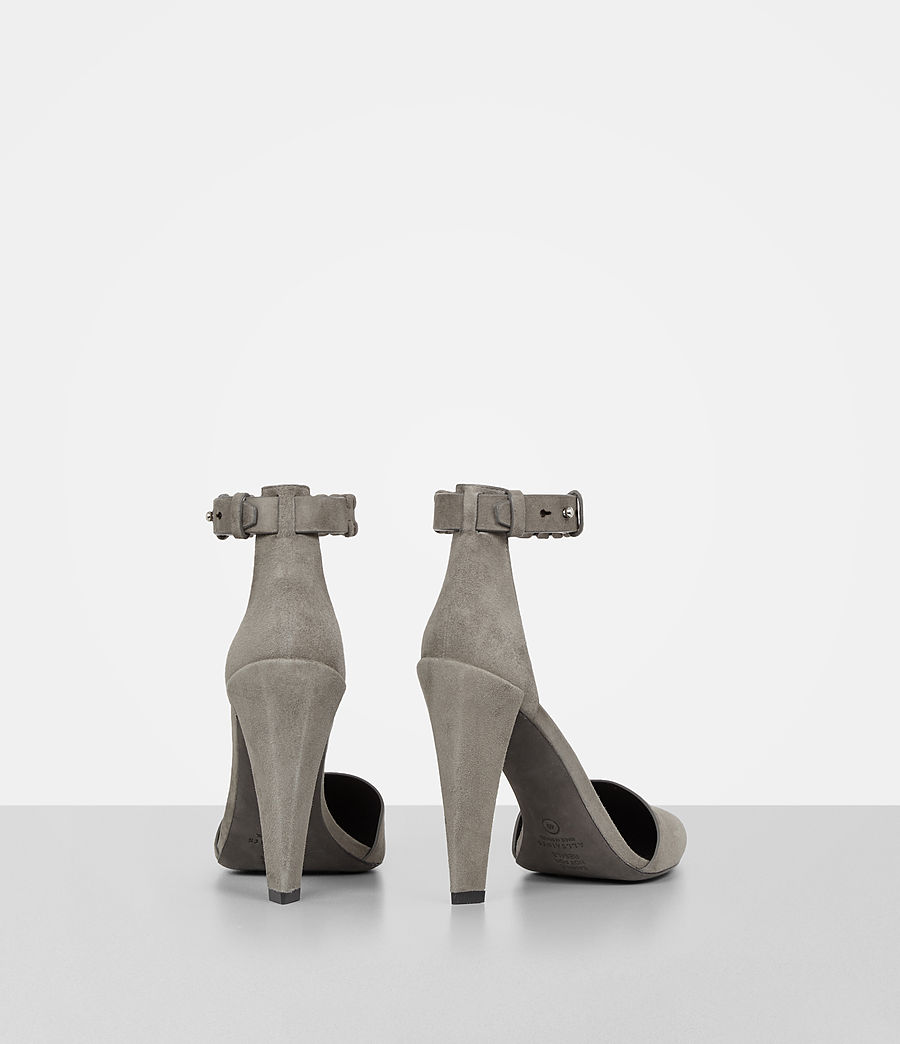 Women's Gabie Suede Sandal (smoke_grey) - Image 5