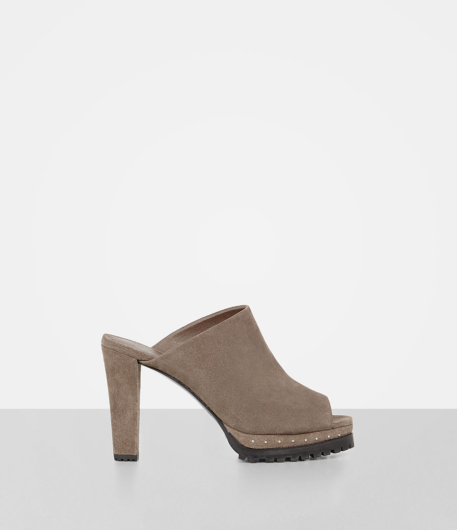 Womens Lucia Heel (almond_brown) - Image 1