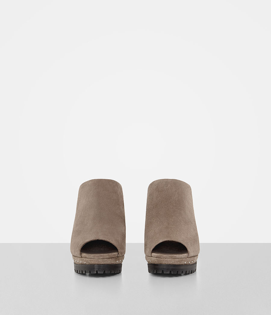 Femmes Mules Lucia (almond_brown) - Image 4