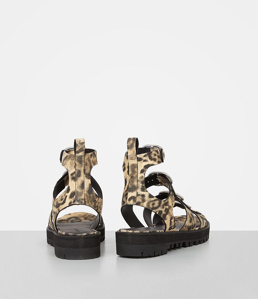 Damen Raquel Leopard Suede Sandal (leopard) - Image 5