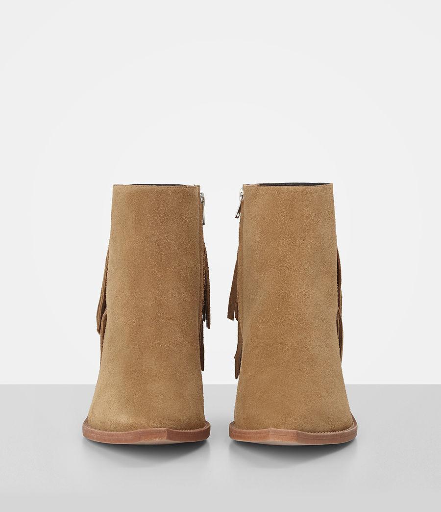 Donne Salerno Suede Boot (mustard) - Image 4