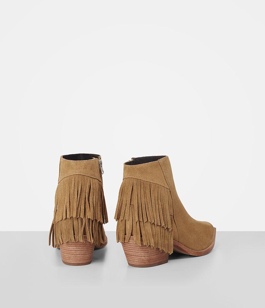 Donne Salerno Suede Boot (mustard) - Image 5