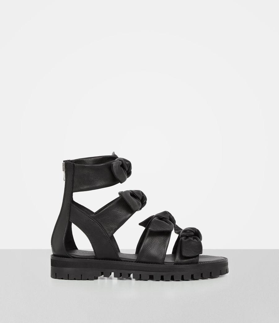 Womens Aimi Sandal (black) - Image 1